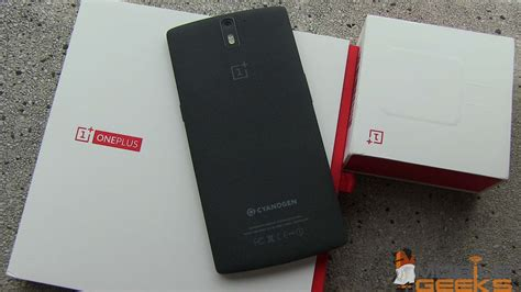 oneplus one oneplus one smartphone unboxing mobile geeks