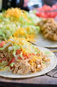 Crock Pot Creamy Pulled Chicken Tacos Will Cook For Smiles