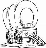 Wagon Coloring Pioneer Covered Chuck Drawing Conestoga Trail Getcolorings Wheel Clipartmag Getdrawings Printable Sketch Horse sketch template