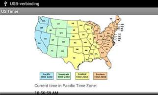 Pacific Eastern Central Time Zones