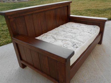 diy furniture queen size daybed  plan