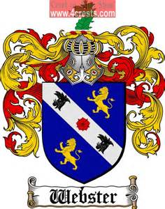 Webster Family Crest Coat of Arms