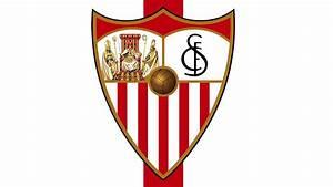 Bandera Y Escudo Del Sevilla F U00fatbol Club
