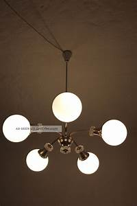 Lampe 5 Flammig : 1970er deckenlampe 5 flammig glas kugelschirme ~ Lateststills.com Haus und Dekorationen