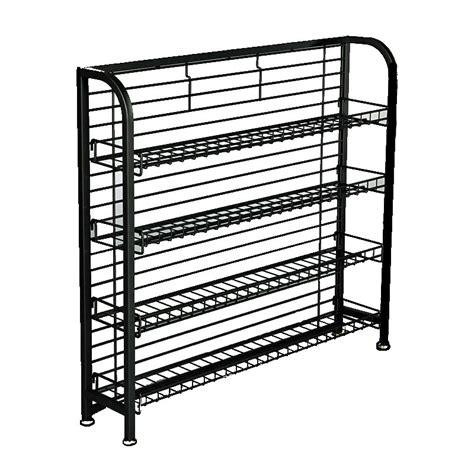 wire display racks multi use display racks 33 quot h undercounter wire display