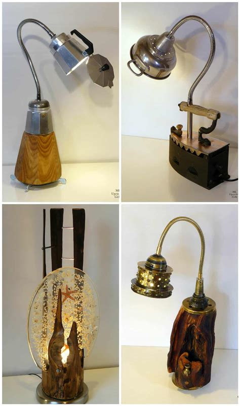 upcycled lamps recyclart