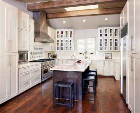 kitchen island pot rack lighting dallas split level modern ranch renovation
