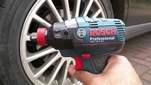 Bosch Gdx18v-ec Idh182 Hybrid Impact Driver    Wrench Maximum Torque Test