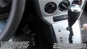 Play 2002 pt cruiser shift shifter cable problem no