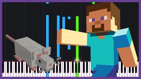 Living Mice  Minecraft [piano Tutorial] (synthesia