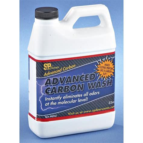 carbon wash s p scents advanced carbon clothes wash 148985 scent scent eliminators at sportsman s guide