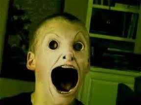 Creepy Scary Demon Face
