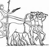 Chariot Roman Horse Clipart Clip Chariots Greek Drawn Colouring Coloring Etc Sketch Template Transportation Usf Edu 1024 sketch template