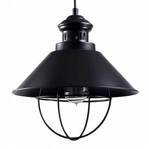 Suspension Noire Design : suspension industrielle noire 32 cm koya design ~ Teatrodelosmanantiales.com Idées de Décoration