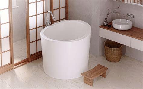 Mini Vasca Da Bagno by Aquatica True Ofuro Mini Tranquility Heated Japanese