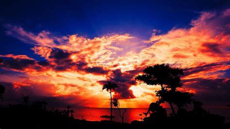 aesthetic sunset desktop hd wallpapers