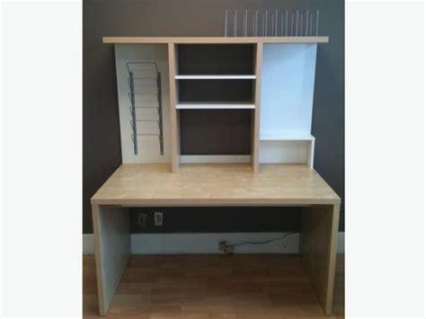 desk add on shelf ikea mikael desk with add on shelf unit orleans ottawa