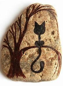 Steine Bemalen Katze : bemalte steine ihre zeit f r kreative besch ftigungen ~ Watch28wear.com Haus und Dekorationen