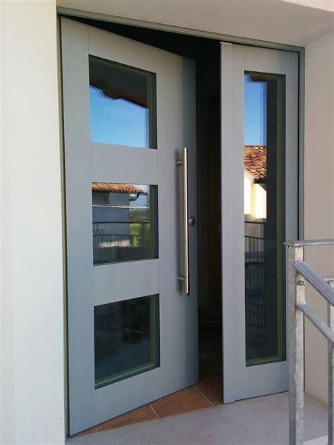 portoncino in legno alluminio luvisotto serramenti