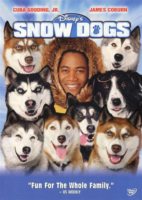 snow dogs  dvd cover