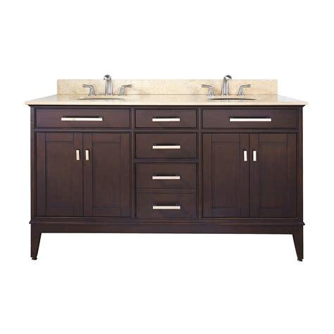 60 bathroom vanity double sink lowes avanity madison vs60 madison 60 in bathroom vanity with