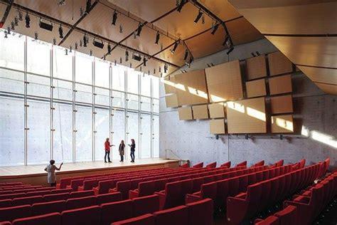 ceiling lighting design light permeates the auditorium via a light well