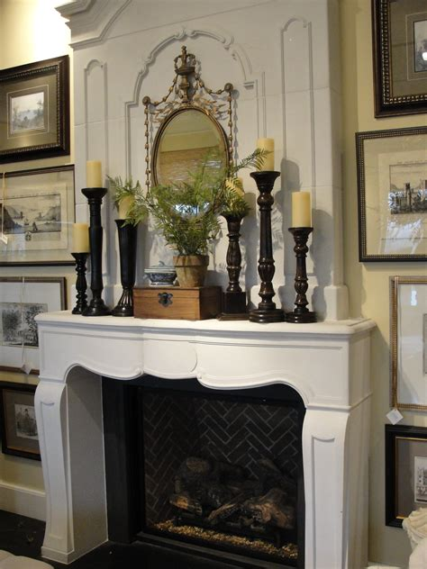 Ideas For Mantels by Mesmerizing Fireplace Mantel Decorating Ideas Images