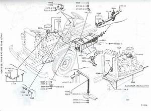Fuel Line Routing 54 F100? - Ford Truck Enthusiasts Forums