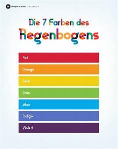 Regenbogen 7 Farben : die farben des regenbogens wissenswertes ber ~ Watch28wear.com Haus und Dekorationen