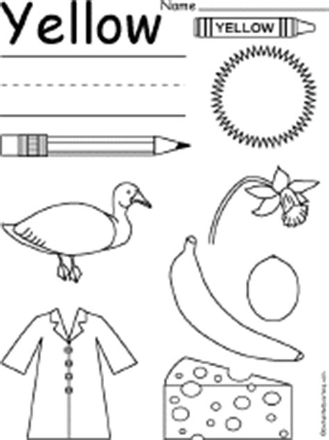 color word yellow clipart black  white   cliparts