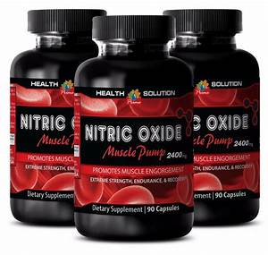 Workout Recovery Supplement Nitric Oxide Muscle Pump 2400 L