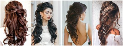 Wedding Hairstyles Half Up Half Down : The Best Wedding Hairstyles That Will Leave A Lasting