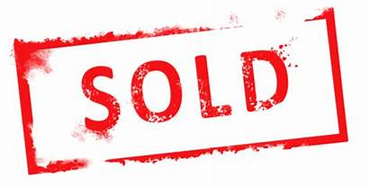Sold Clipart Clip Stamp Sign Cliparts Realty