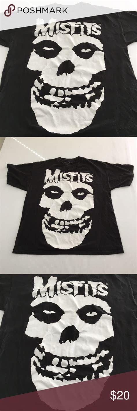 Misfits Band Tee Graphic Skull XL T Shirt | Band tees, How ...