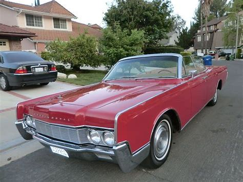 Buy Used 1967 Lincoln Continental Convertible W Suicide
