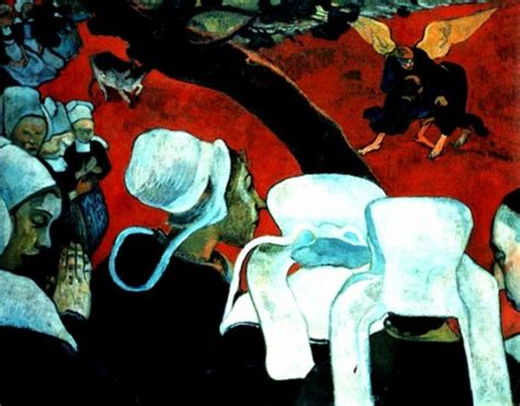 Epph  Gauguin's Vision After The Sermon (1888