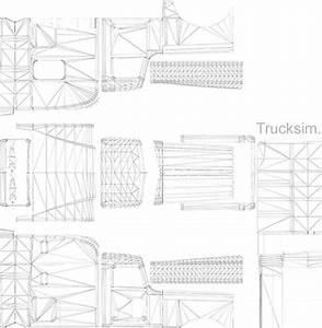 scs peterbilt 389 skinning template ats american truck With ats templates