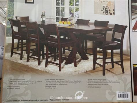 Hillsdale Furniture 9 Piece Counter Height Dining Set