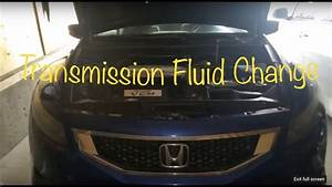 2008  Honda Accord Auto Transmission Fluid Change