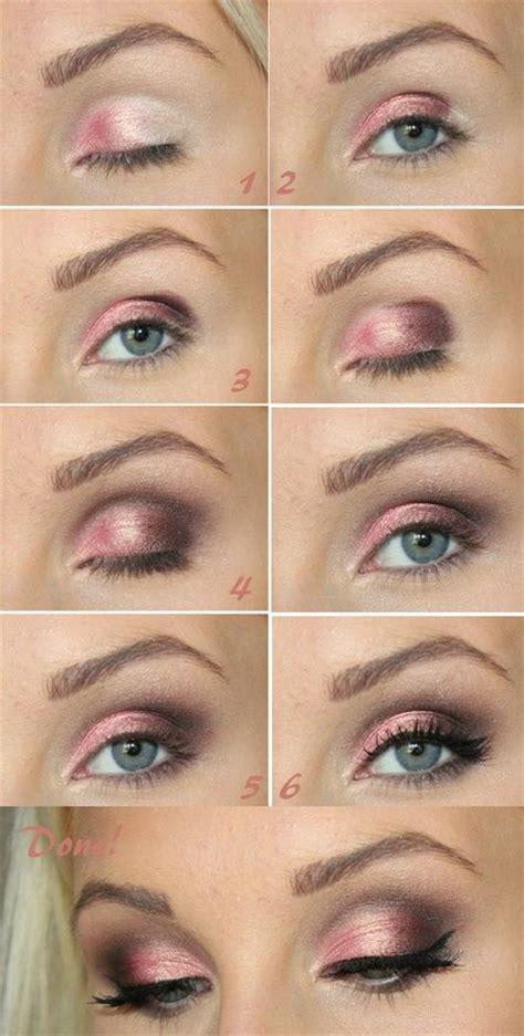 pretty pink smokey eye makeup  pretty designs