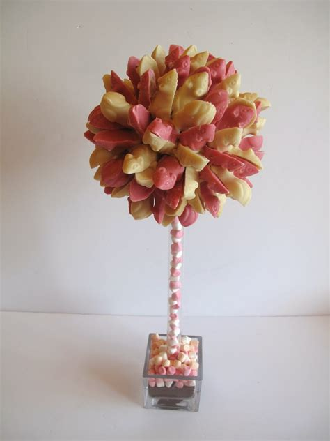 Candy Cupcake Candy Trees For A Special Little Girls