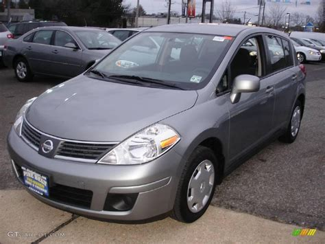 grey nissan versa 2009 magnetic gray nissan versa 1 8 s hatchback 22682913