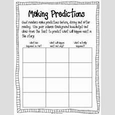Use Graphic Organizers To Make Predictions Determine What Is Going On Currently, What Will