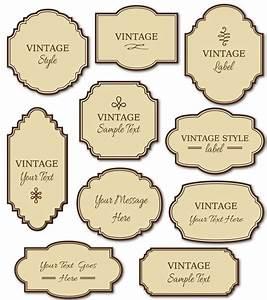 25 unique vintage food labels ideas on pinterest for Decorative labels for printing