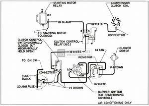 Chevrolet 1959 Air Con Wiring Electrical Diagram Manual