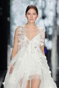 yolancris news garden inspired wedding dresses to With flower wedding dresses