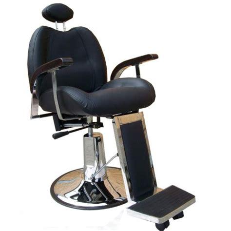 fauteuil coiffure homme barbier noir modene