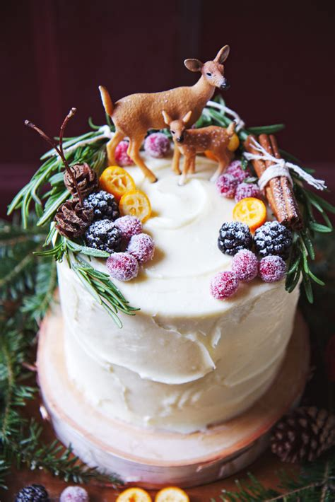 delicious diy christmas cake recipes   shelterness