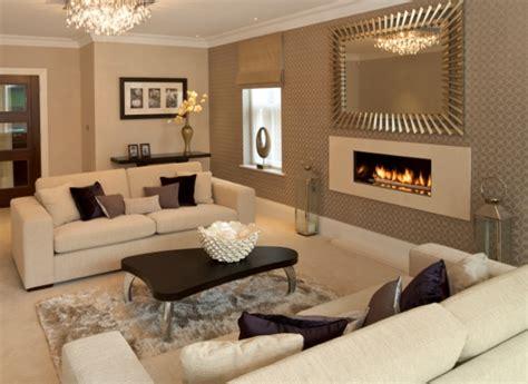 Purple And Cream Living Room Gallery