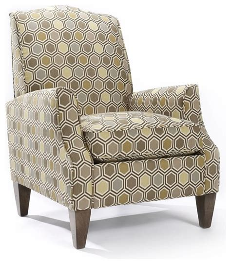 sedona patterned rattan blend arm chair contemporary